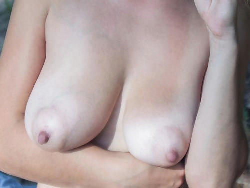 Ivetta Busty Tanlined Blonde