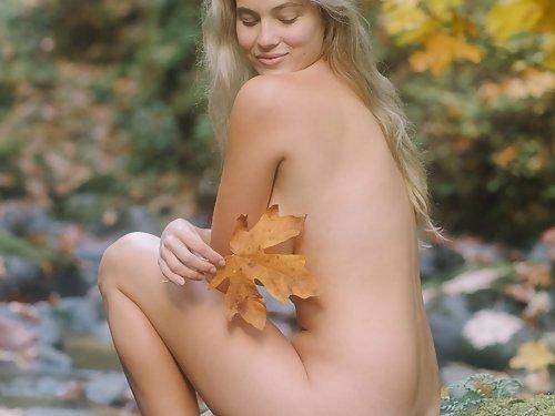 Megan Moore Nude Nature Girl